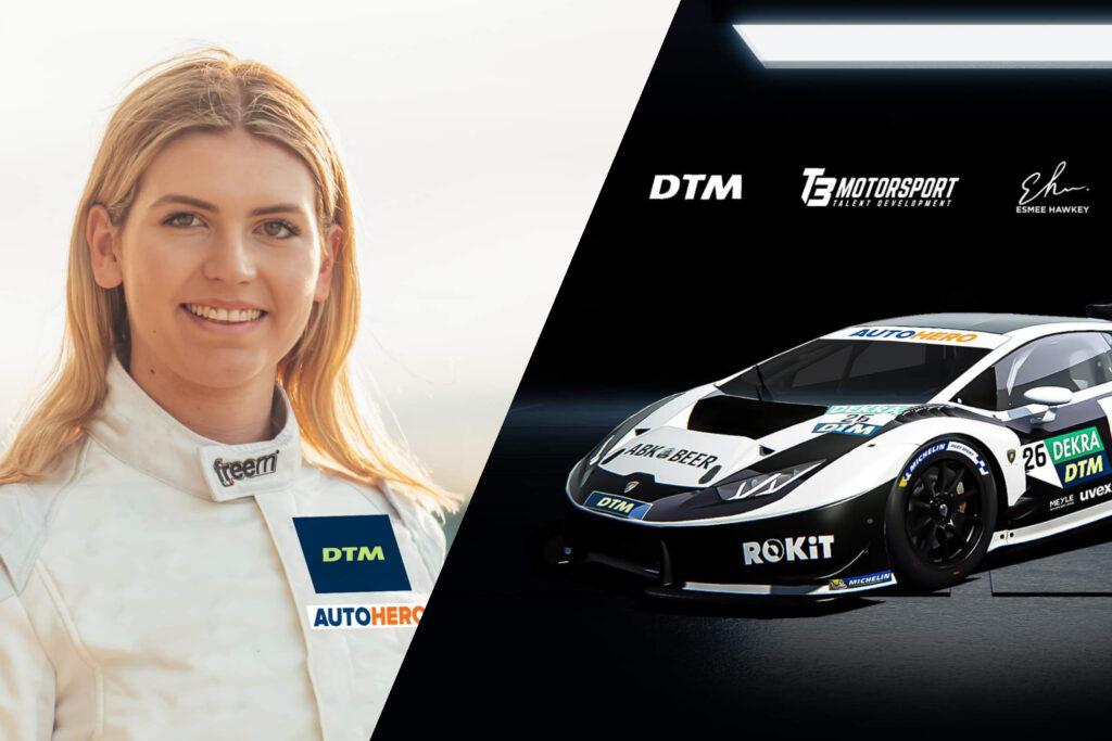 DTM z drugą kobietą i drugim Lamborghini w stawce na rok 2021