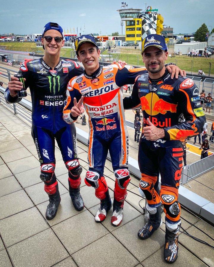 Marc Marquez wygrywa Grand Prix Niemiec na torze Sachsenring