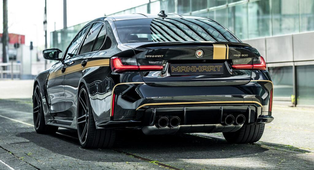 Manhart MH3 600 zaprezentowany jako mocniejsze BMW M3 Competition