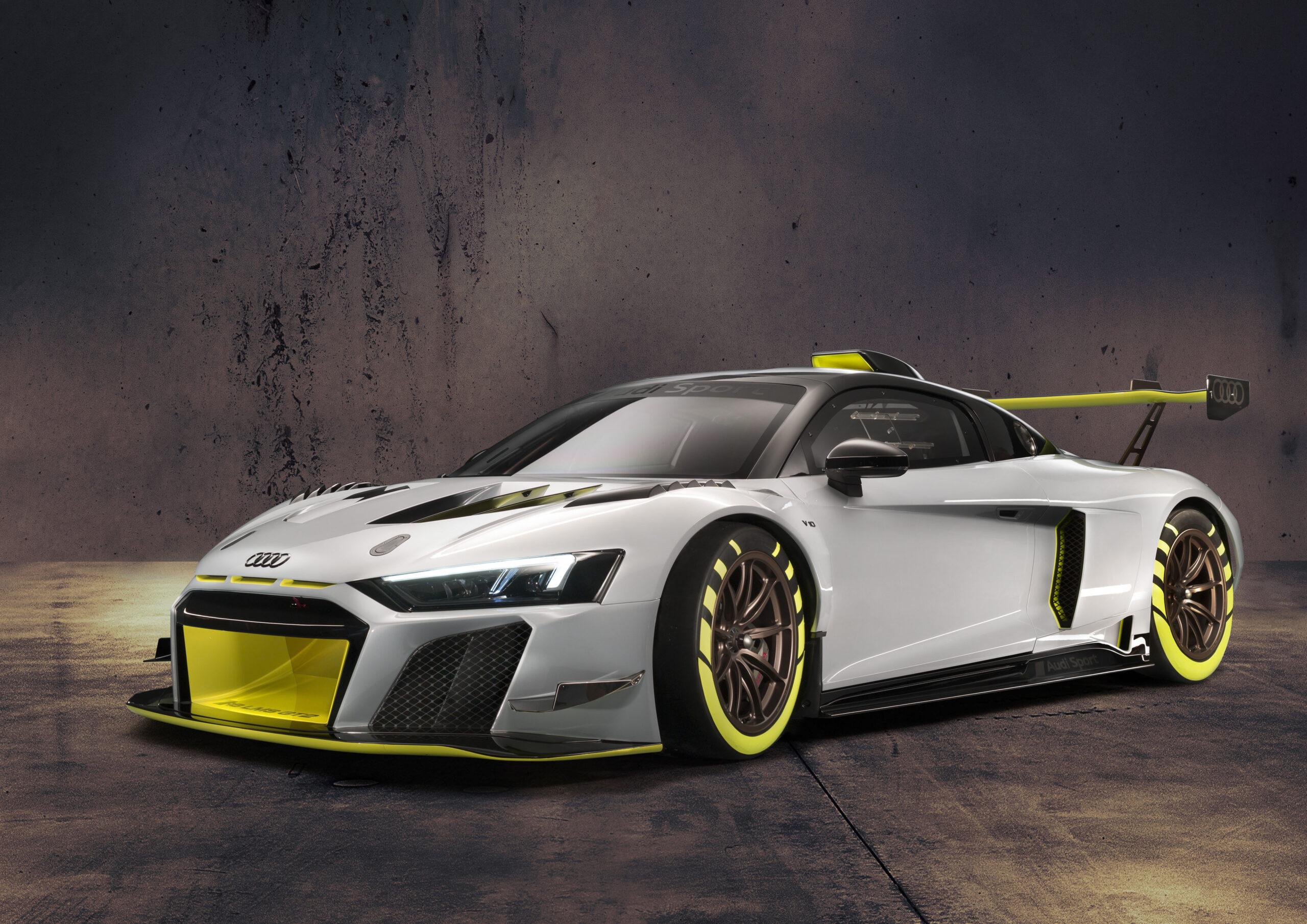 Audi R8 LMS klasy GT2