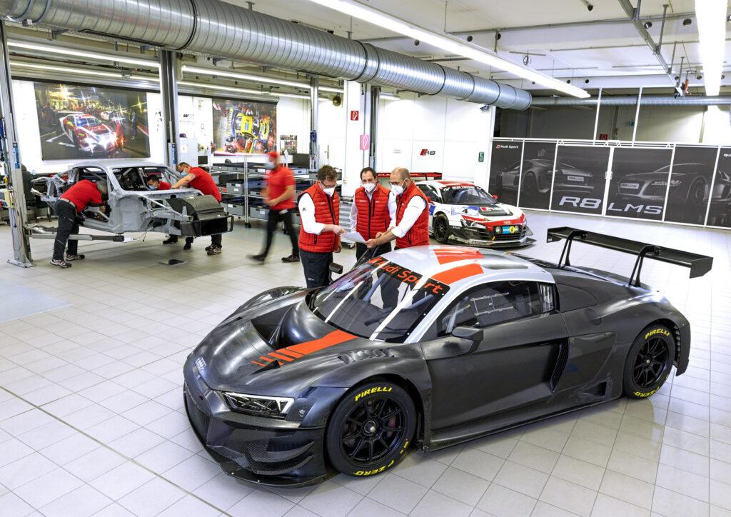 Audi R8 LMS z rekordem sprzedaży! Torowy bestseller!