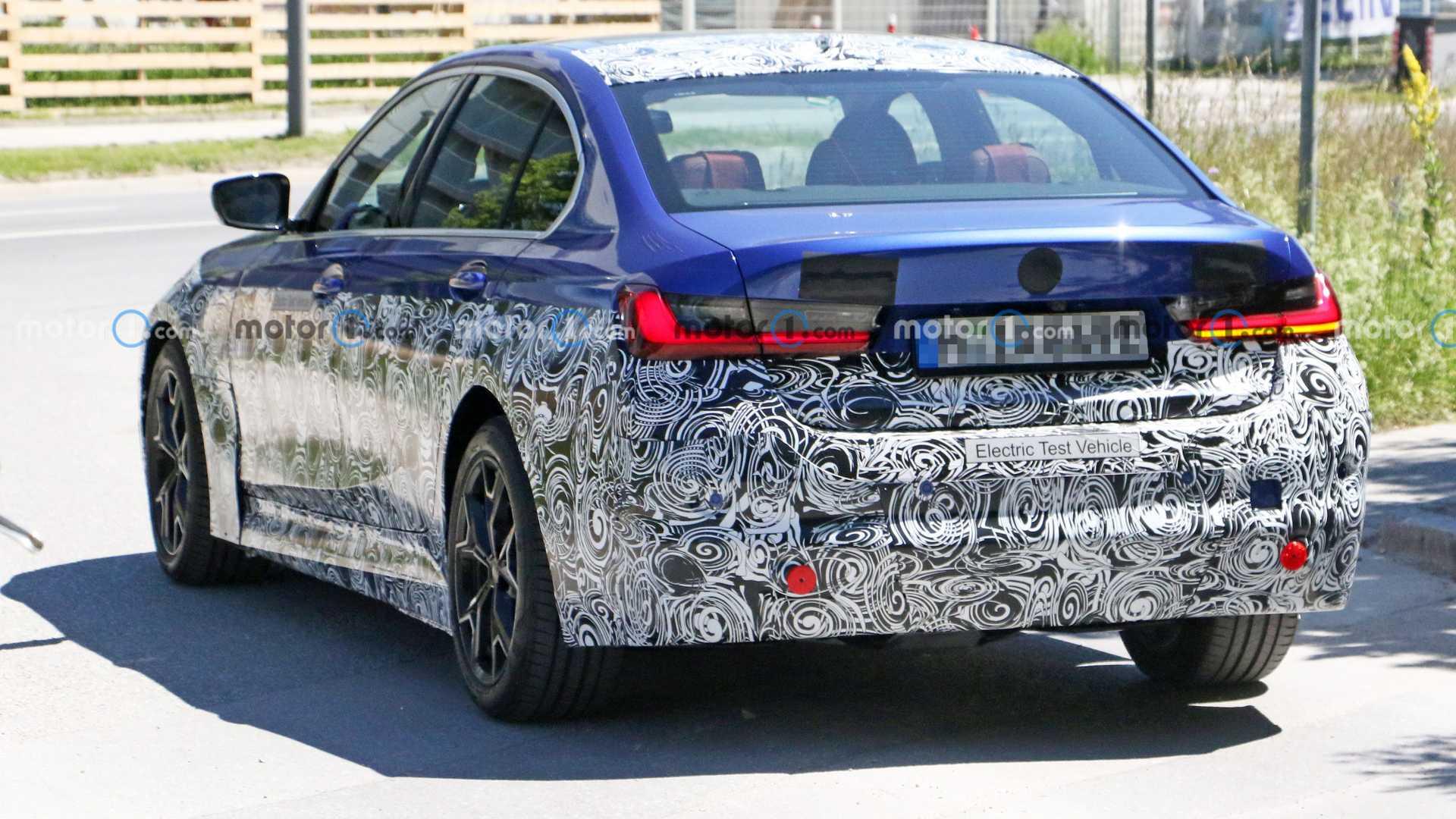 Elektryczne BMW serii 3