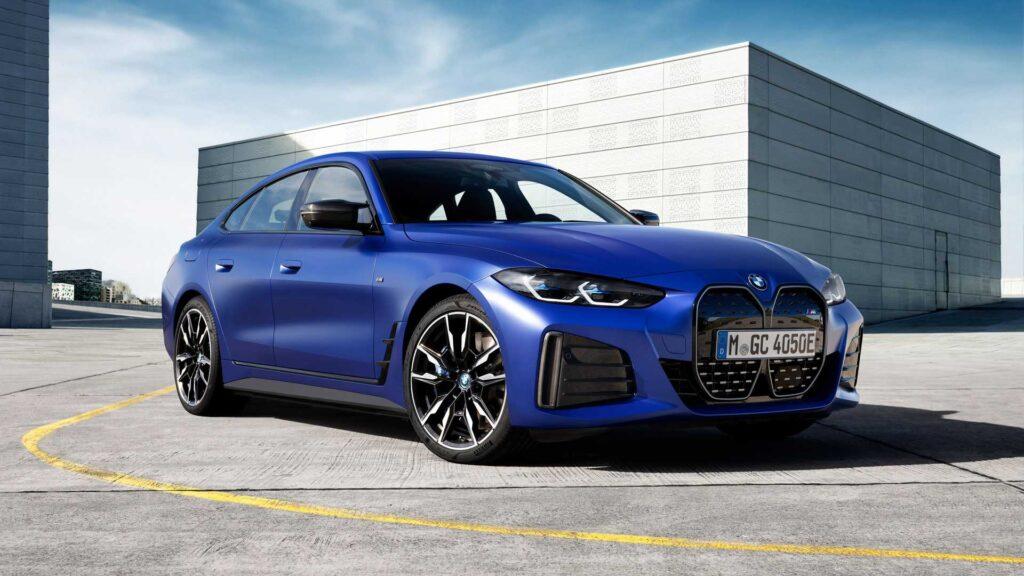 Pierwsze elektryczne BMW z serii M Performance, czyli i4 M50 oficjalnie zaprezentowane