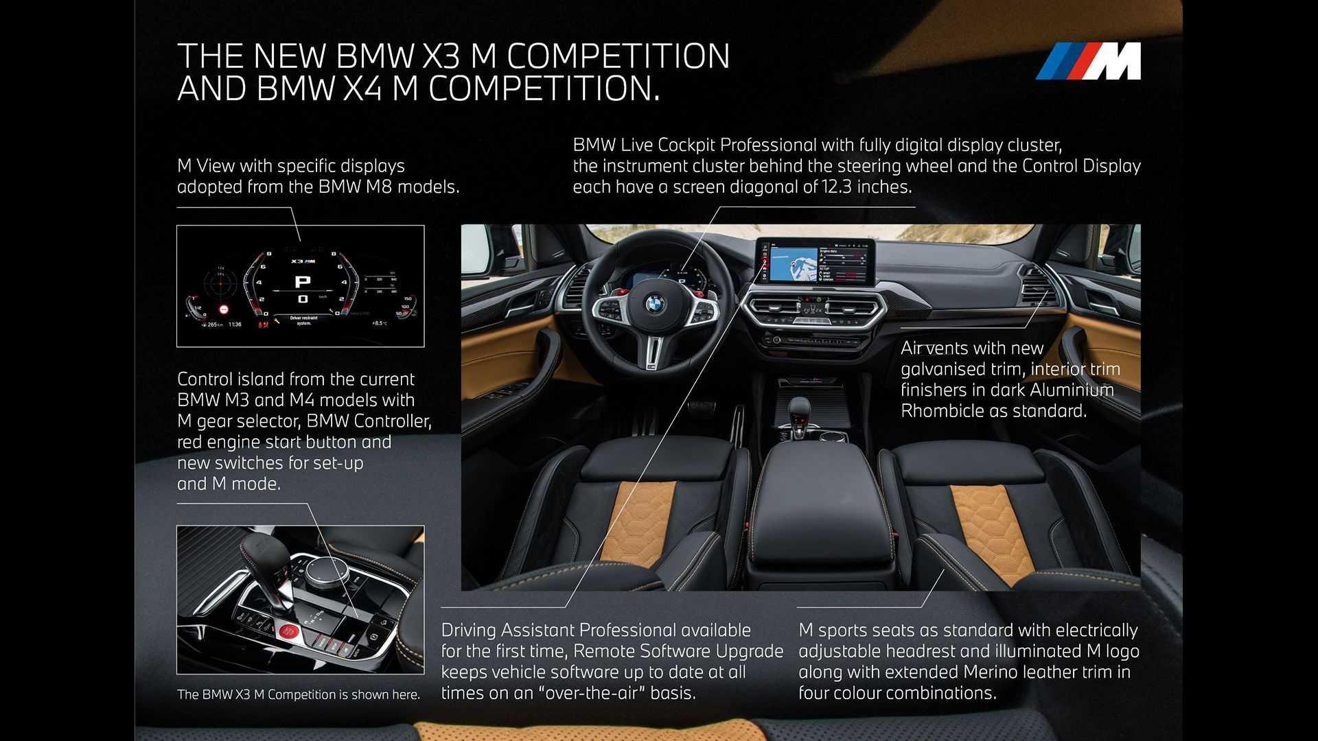 BMW X3 i X4 po liftingu