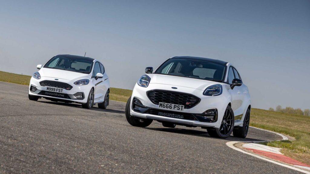 Ford Puma i Fiesta w wersjach ST otrzymują pakiet od Mountune