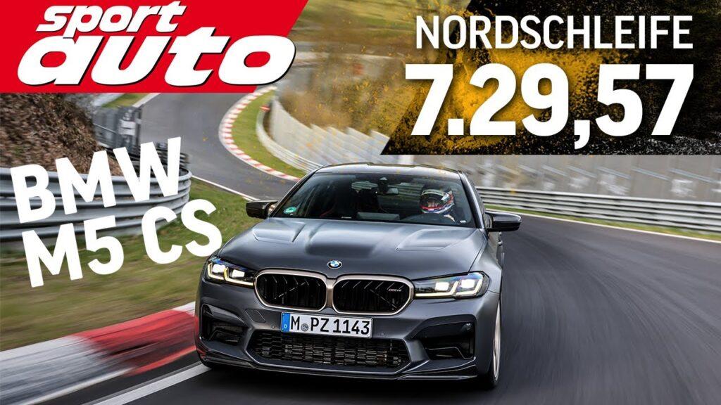 BMW M5 CS pokonało Nurburgring w czasie 7 minut i 29 sekund