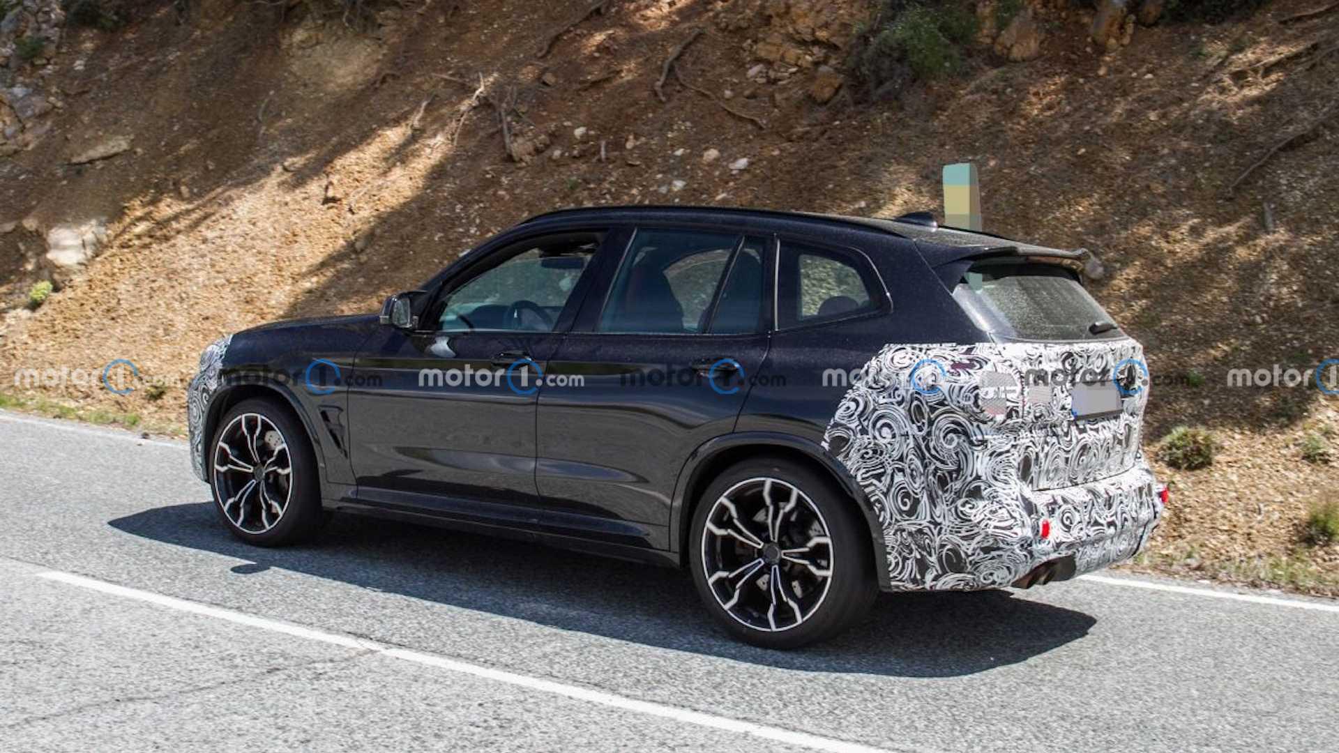 BMW X3 M po liftingu