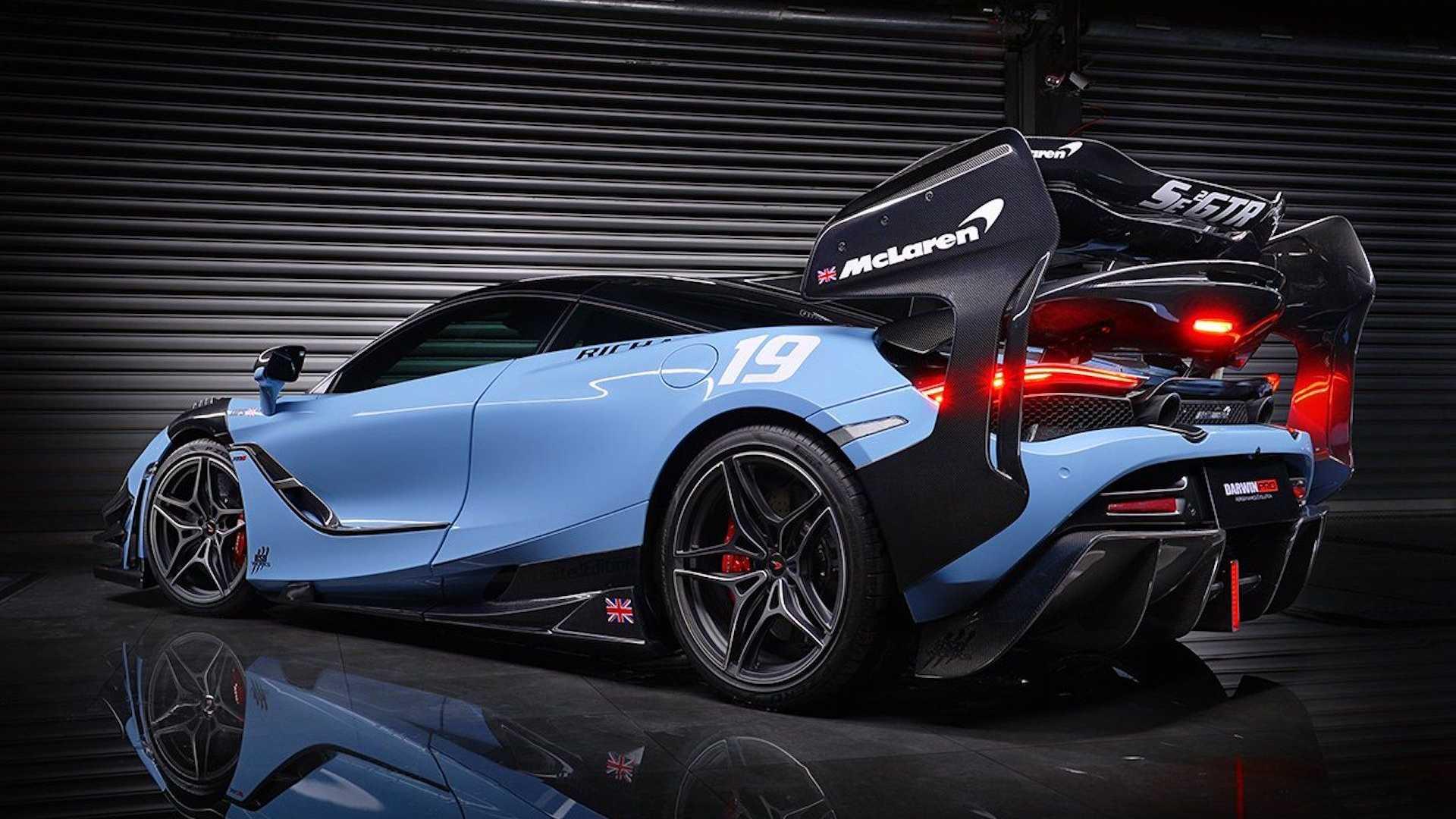 Jak zmienić McLarena 720S w Sennę? Wystarczy bodykit od Darwinpro