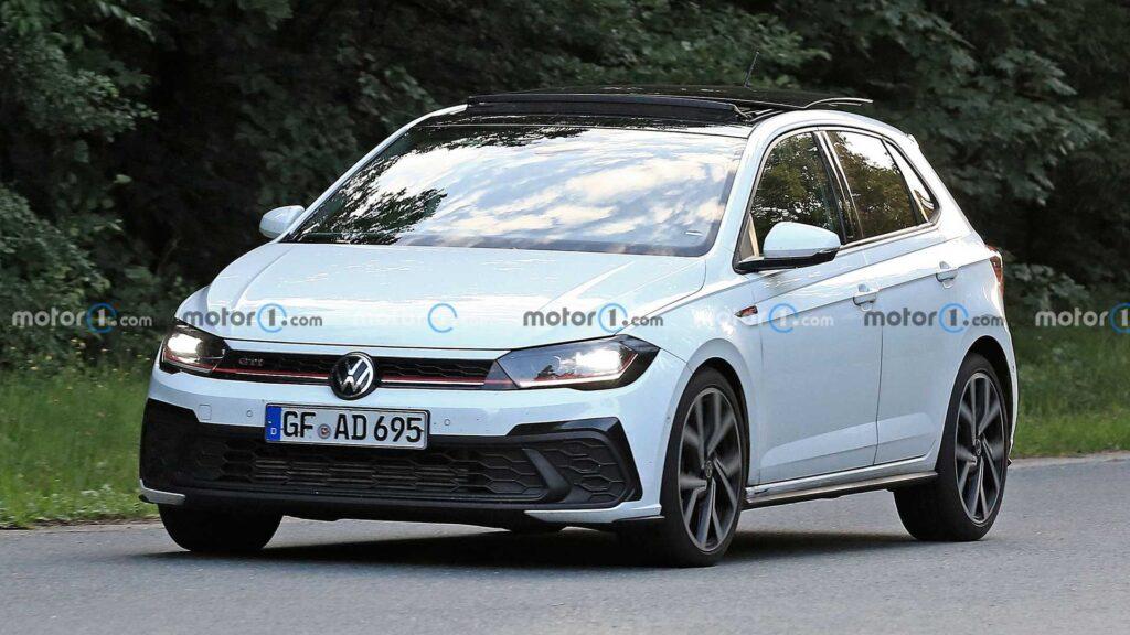 Volkswagen Polo GTI zauważony podczas testów tuż przed premierą