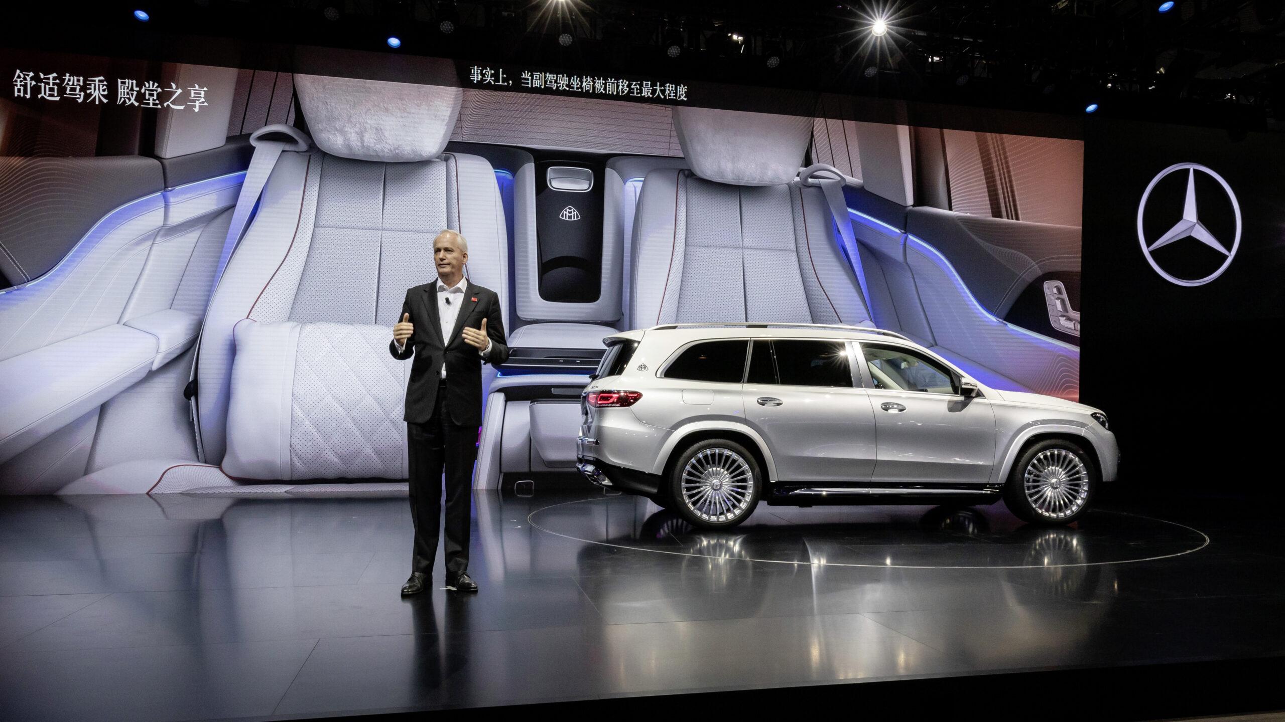 Mercedes pokazuje przedsmak elektrycznego Maybacha EQS SUV