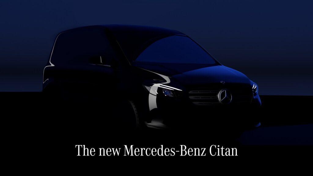 Mercedes uchyla rąbek tajemnicy przed sierpniową premierą modelu Citan