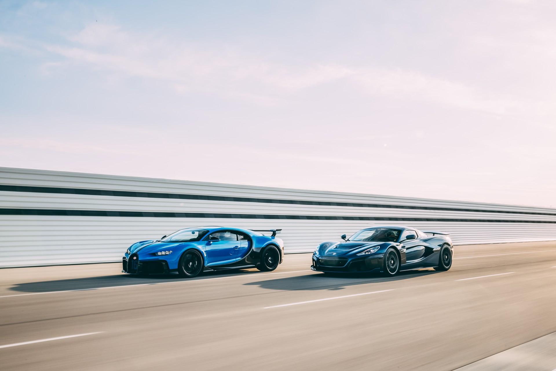 Bugatti i Rimac oficjalnie łączą siły