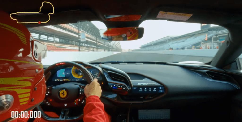 Ferrari SF90 Stradale Assetto Fiorano z rekordem w Indianapolis