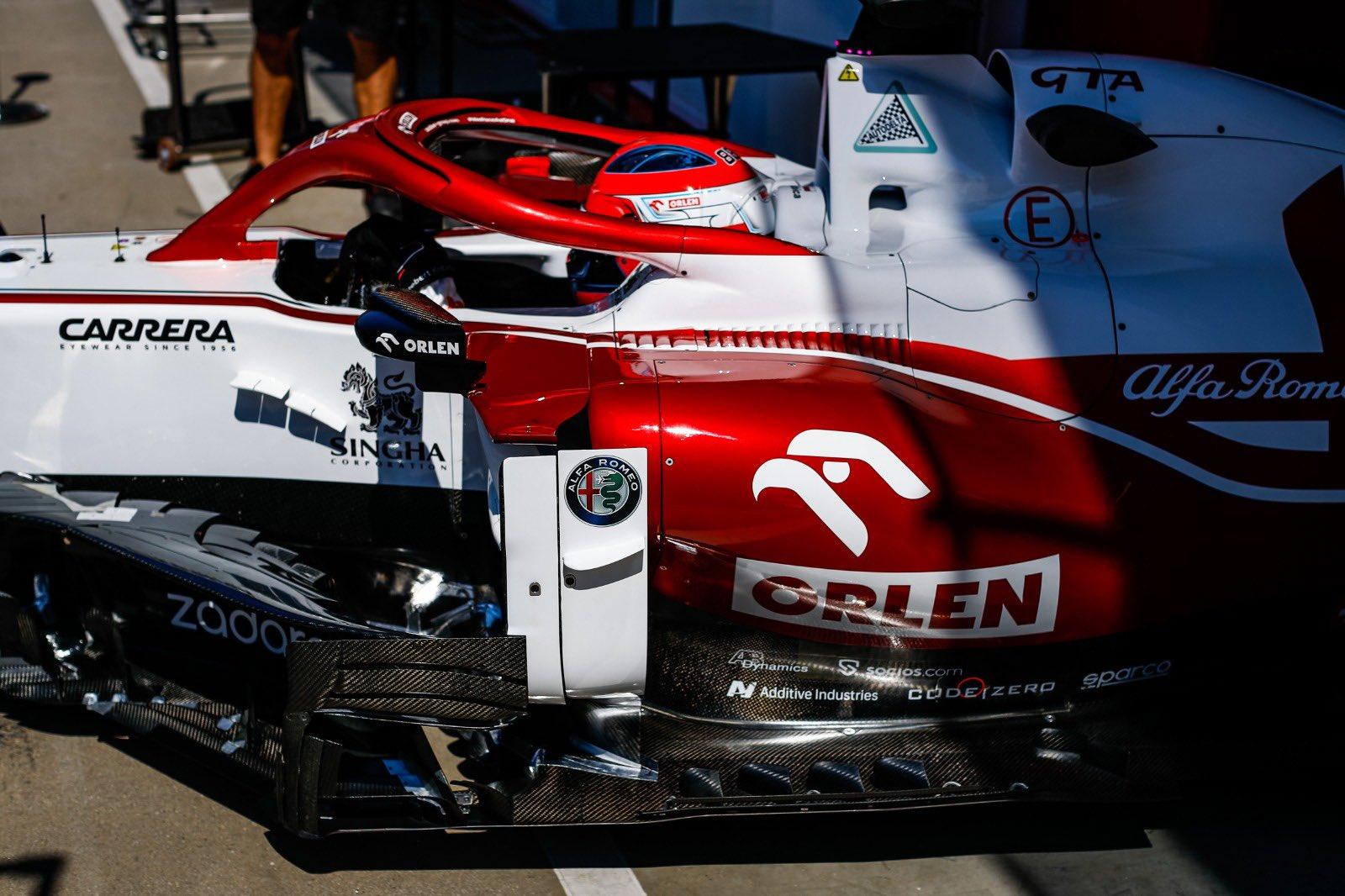 Robert Kubica podczas FP1 przed Grand Prix Węgier