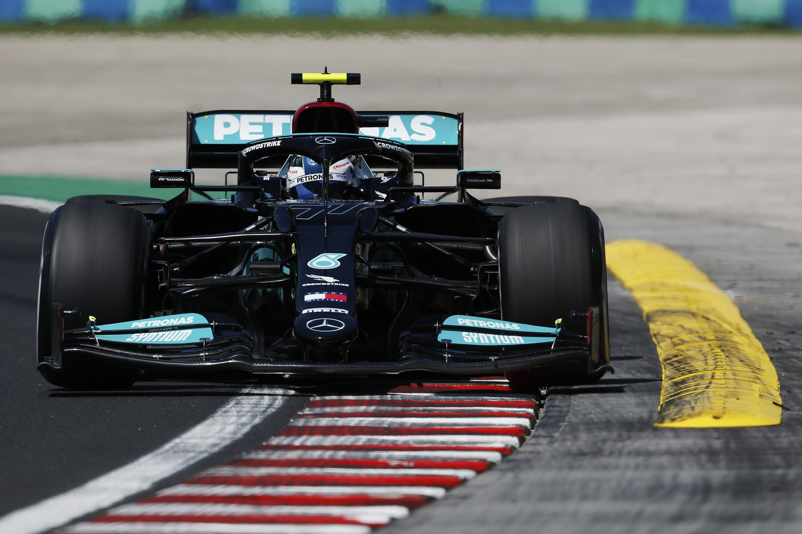 Valtteri Bottas podczas treningu przed Grand Prix Węgier