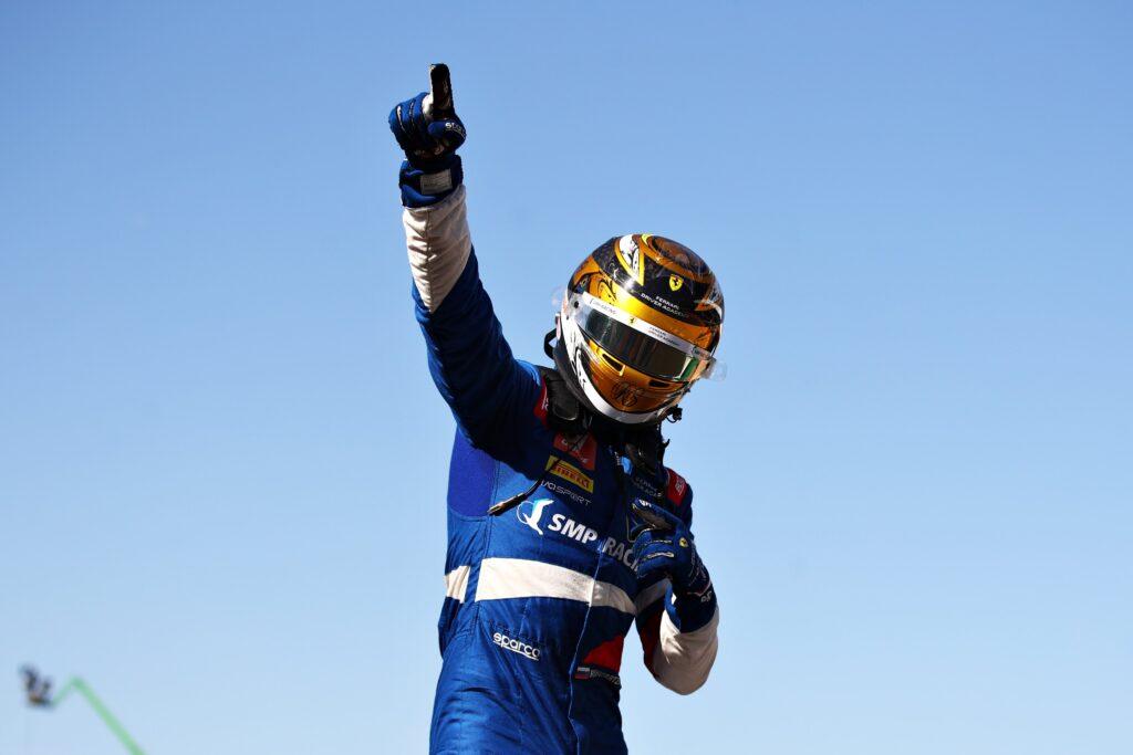 Robert Shwartzman zwycięża w pierwszym sprincie na Silverstone