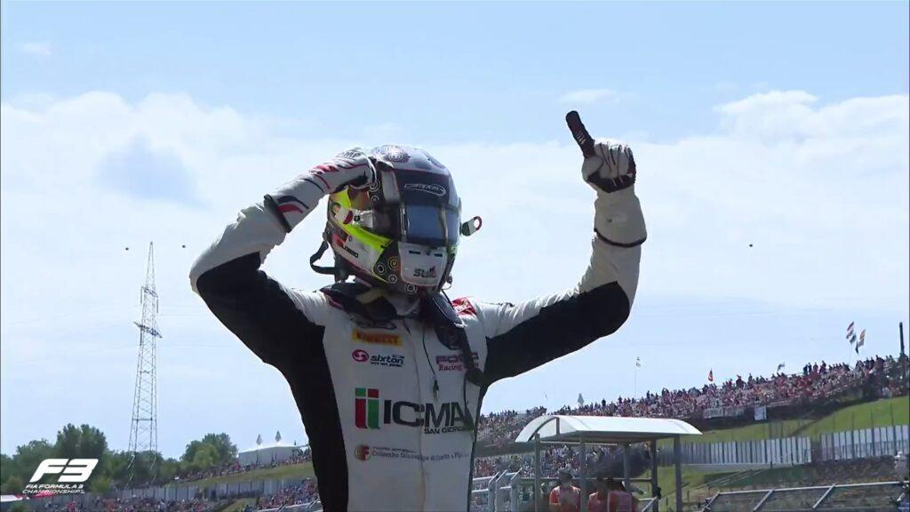 Lorenzo Colombo sensacyjnym zwycięzcą w Formule 3 na Hungaroringu!