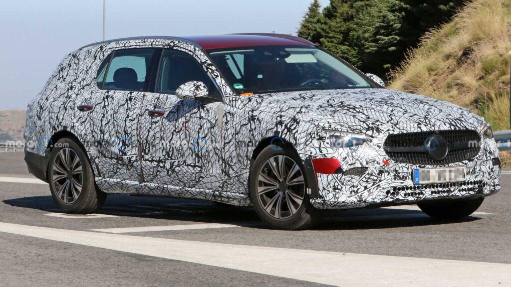 Nowy Mercedes klasy C All-Terrain zauważony podczas testów
