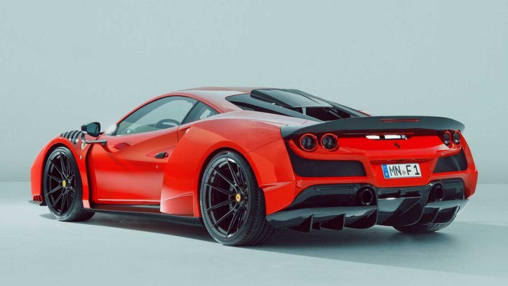 Novitec wziął się za tuning Ferrari F8 Tributo i wyszło mu to świetnie