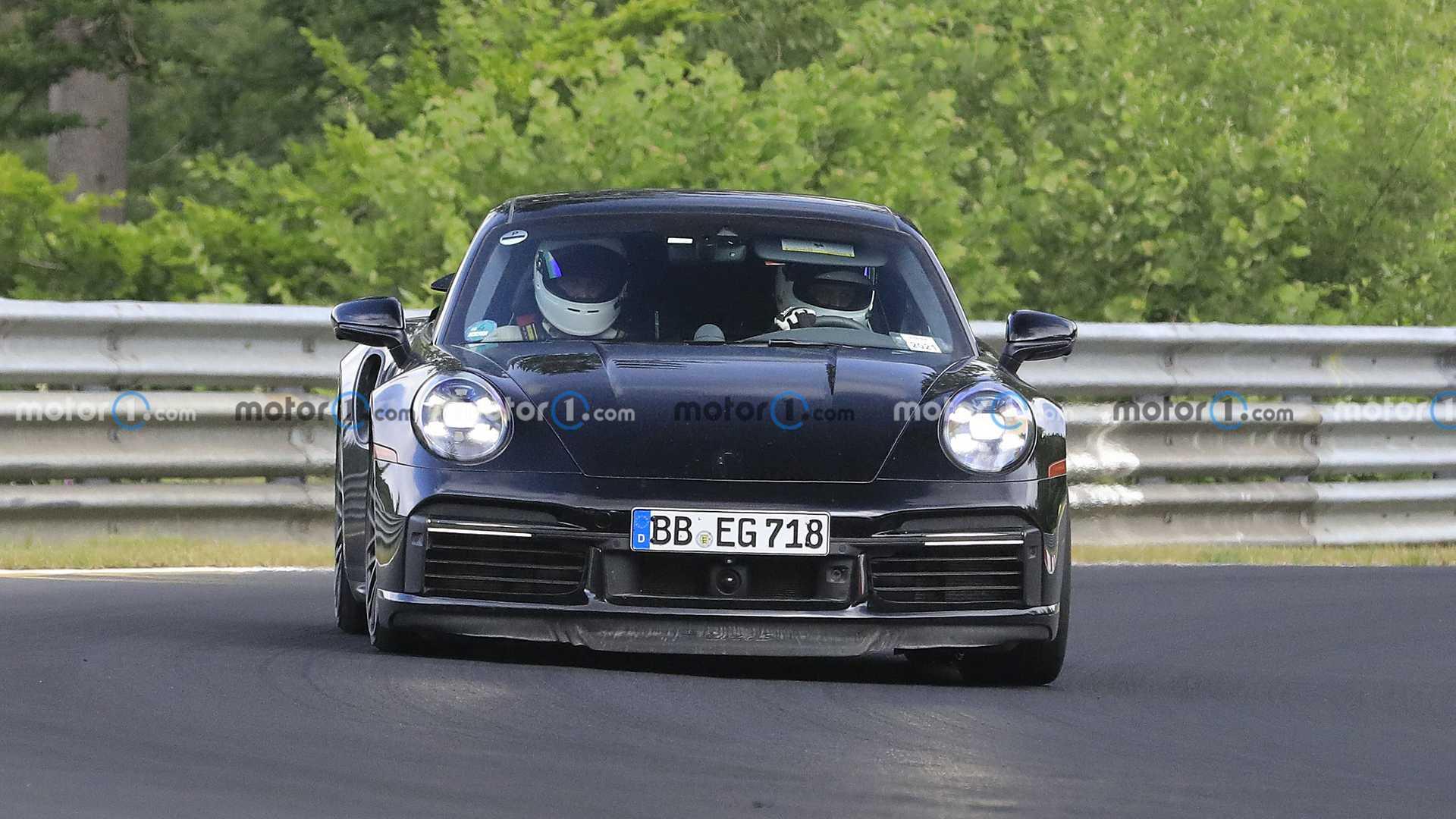Hybrydowe Porsche 911