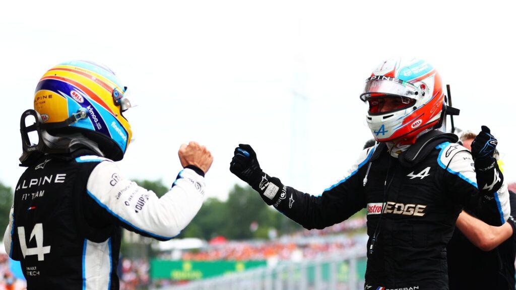 Fernando Alonso i Esteban Ocon