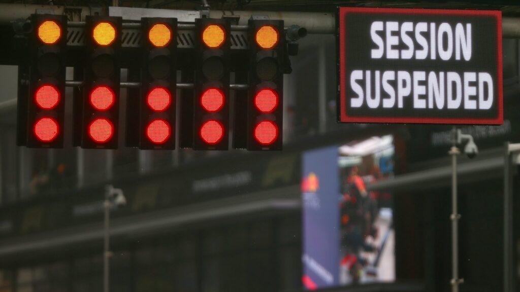 Zawieszony wyścig o Grand Prix Belgii