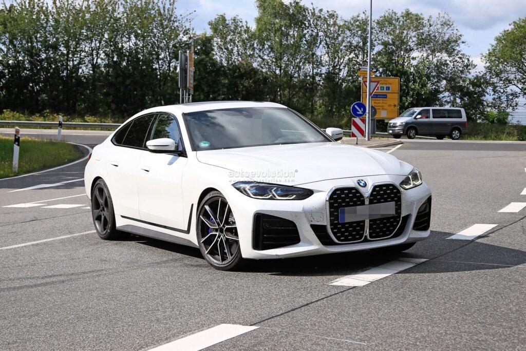 Alpina B4 Gran Coupe zauważona podczas testów przedprodukcyjnych