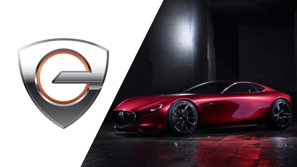 Mazda z kolejnymi patentami. Tym razem logo w kształcie silnika Wankla.