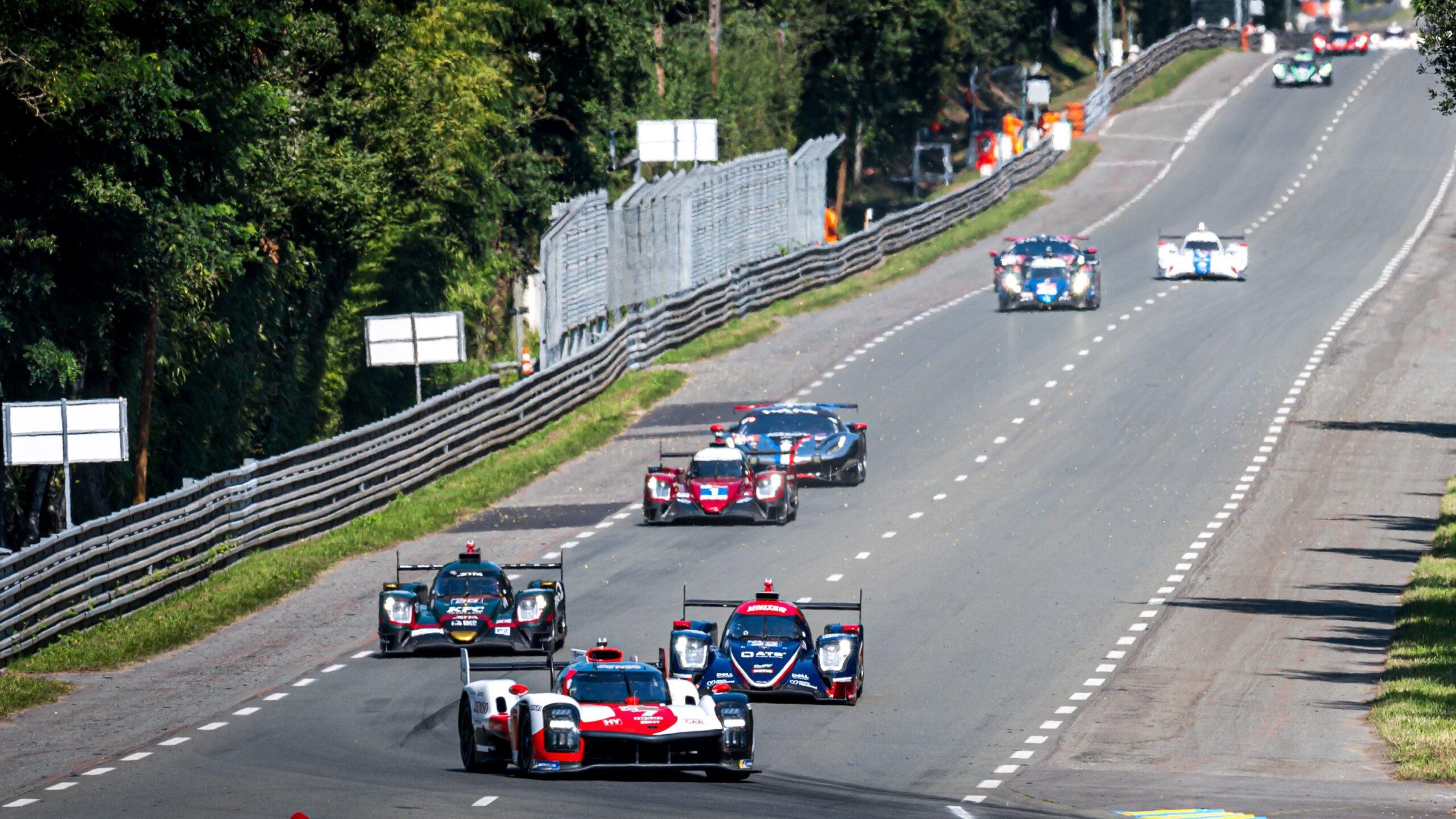 Niedzielne testy przed 24h Le Mans