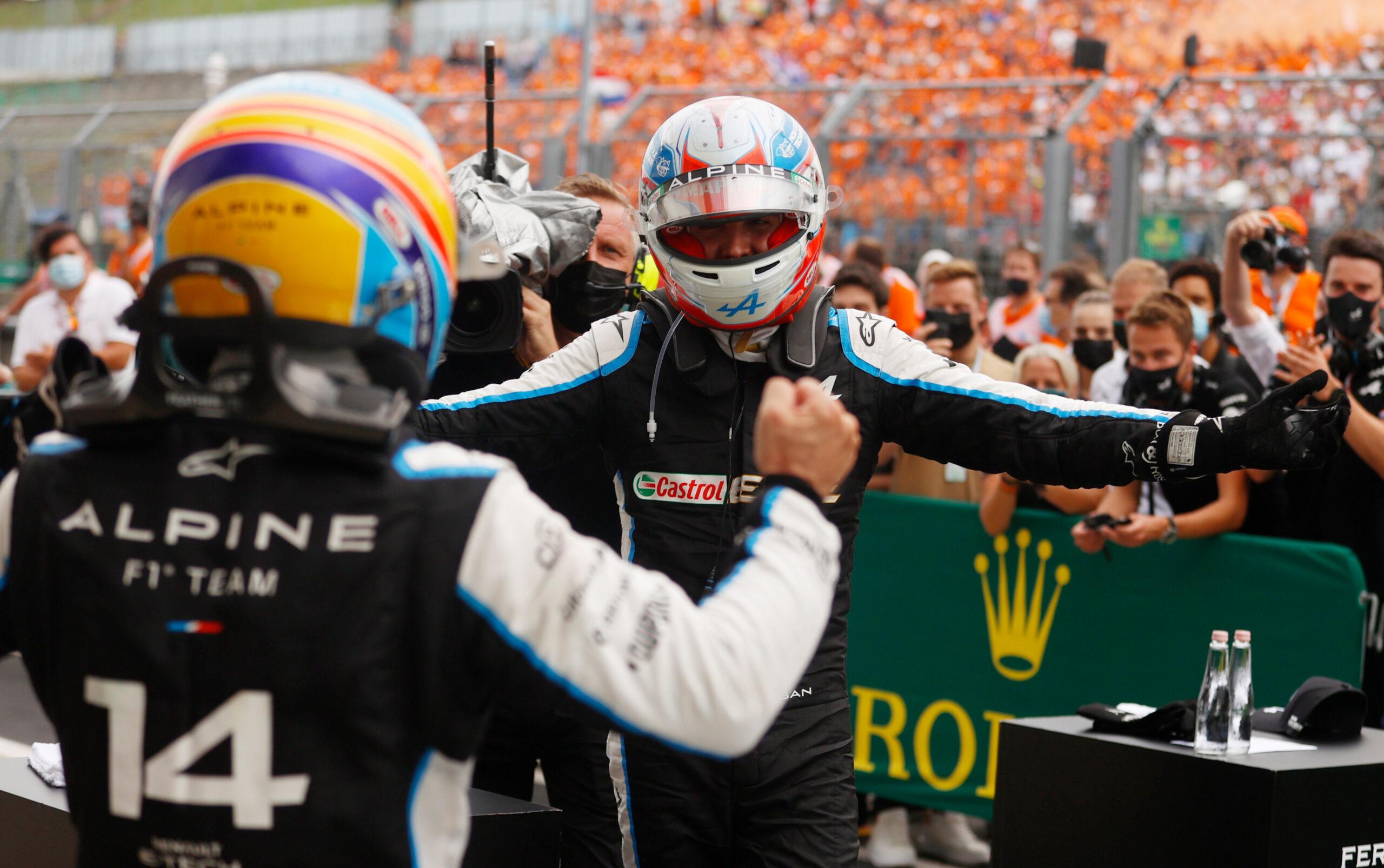 Esteban Ocon F1 Hungarian Grand Prix 2021