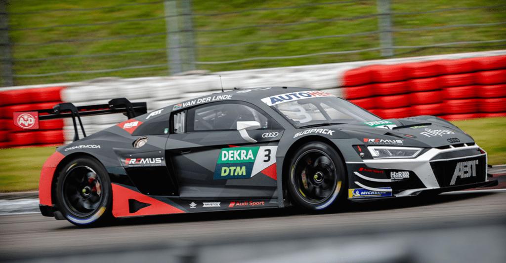 Kelvin van der Linde wygrywa pierwszy wyścig na torze Nurburgring