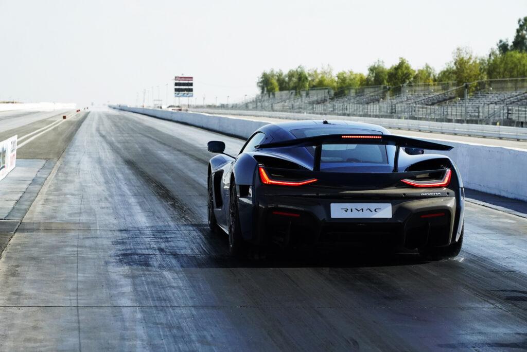 Rimac Nevera oficjalnie najszybszym autem świata na ćwierć mili