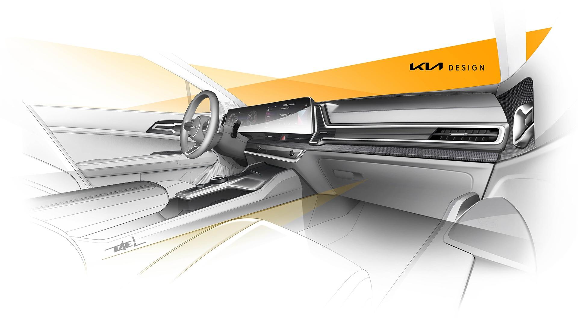 Europejska wersja Kia Sportage - pokazano oficjalne szkice projektowe