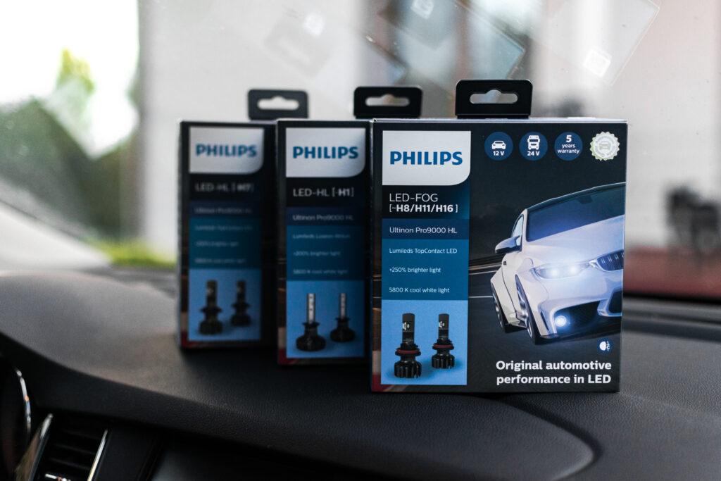 #TEST – PHILIPS Ultinon Pro9000 LED – Przełomowe retrofity dla entuzjastów jazdy