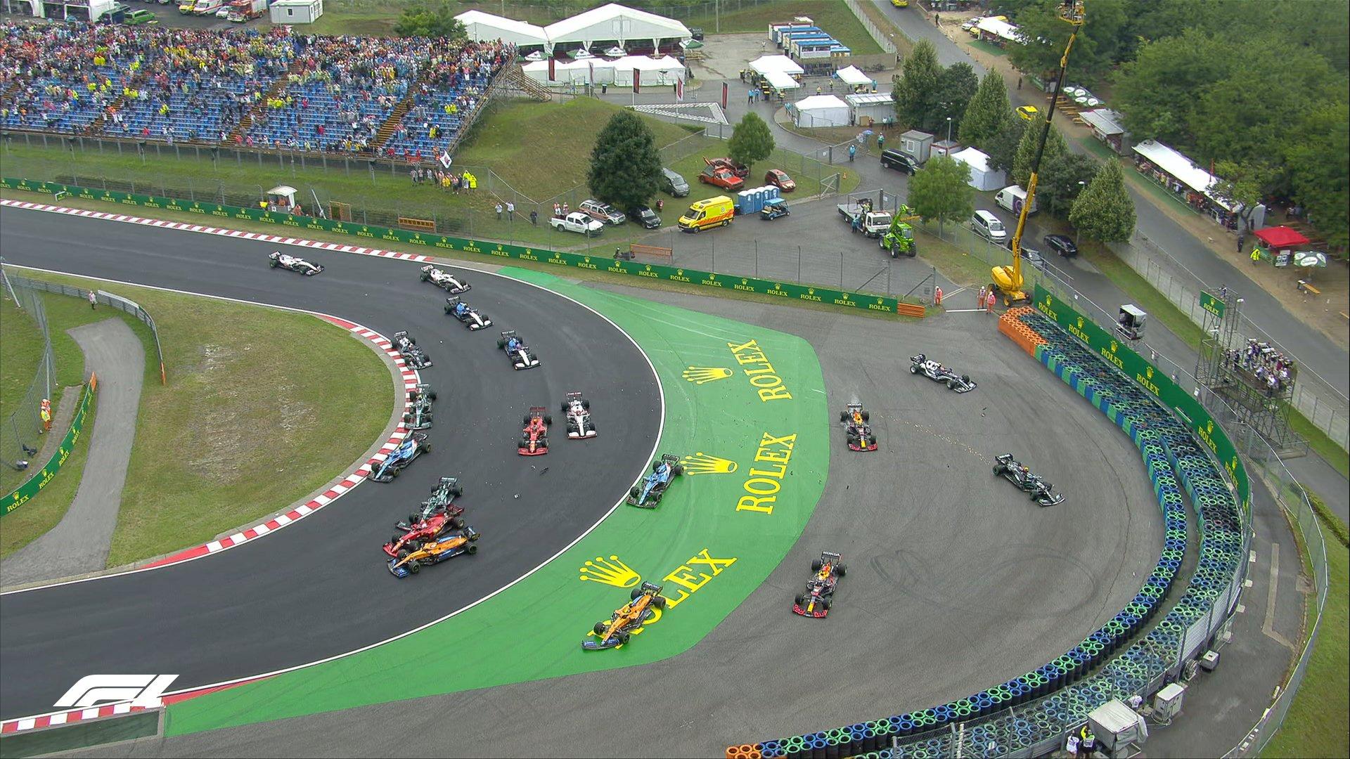 GP Węgier start