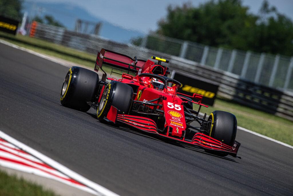 Ferrari zyskało około 0.1 sekundy dzięki pracy w tunelu aerodynamicznym