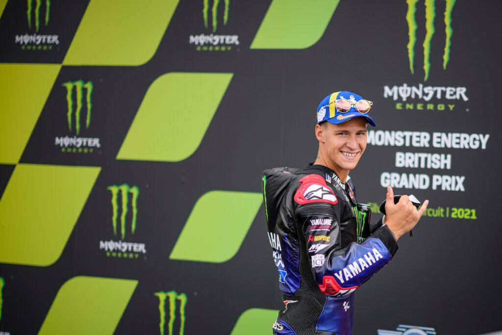 Fabio Quartararo bezproblemowo wygrał GP Wielkiej Brytanii!