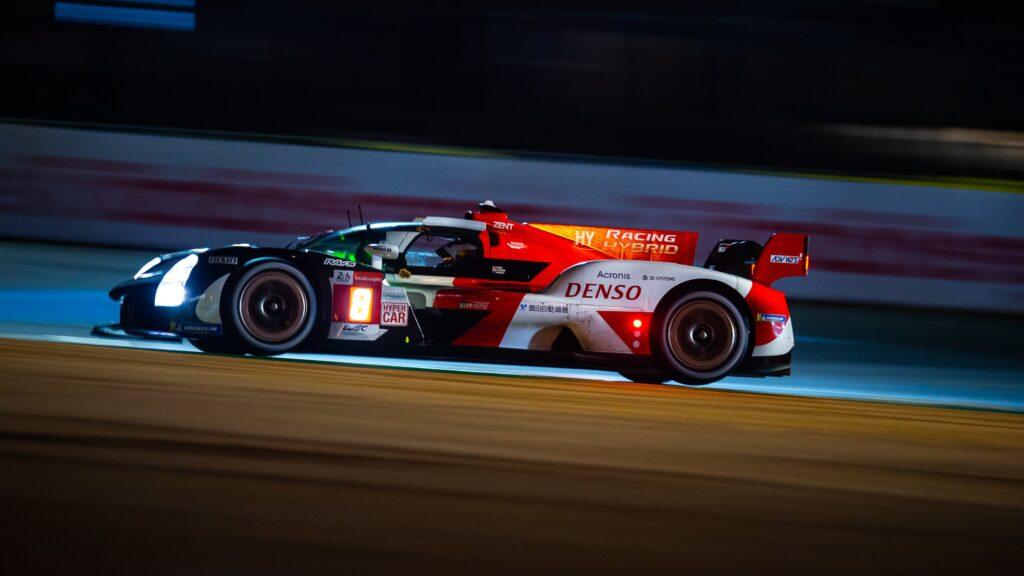 24h Le Mans: Toyota Gazoo Racing zamyka sesje treningowe na czele