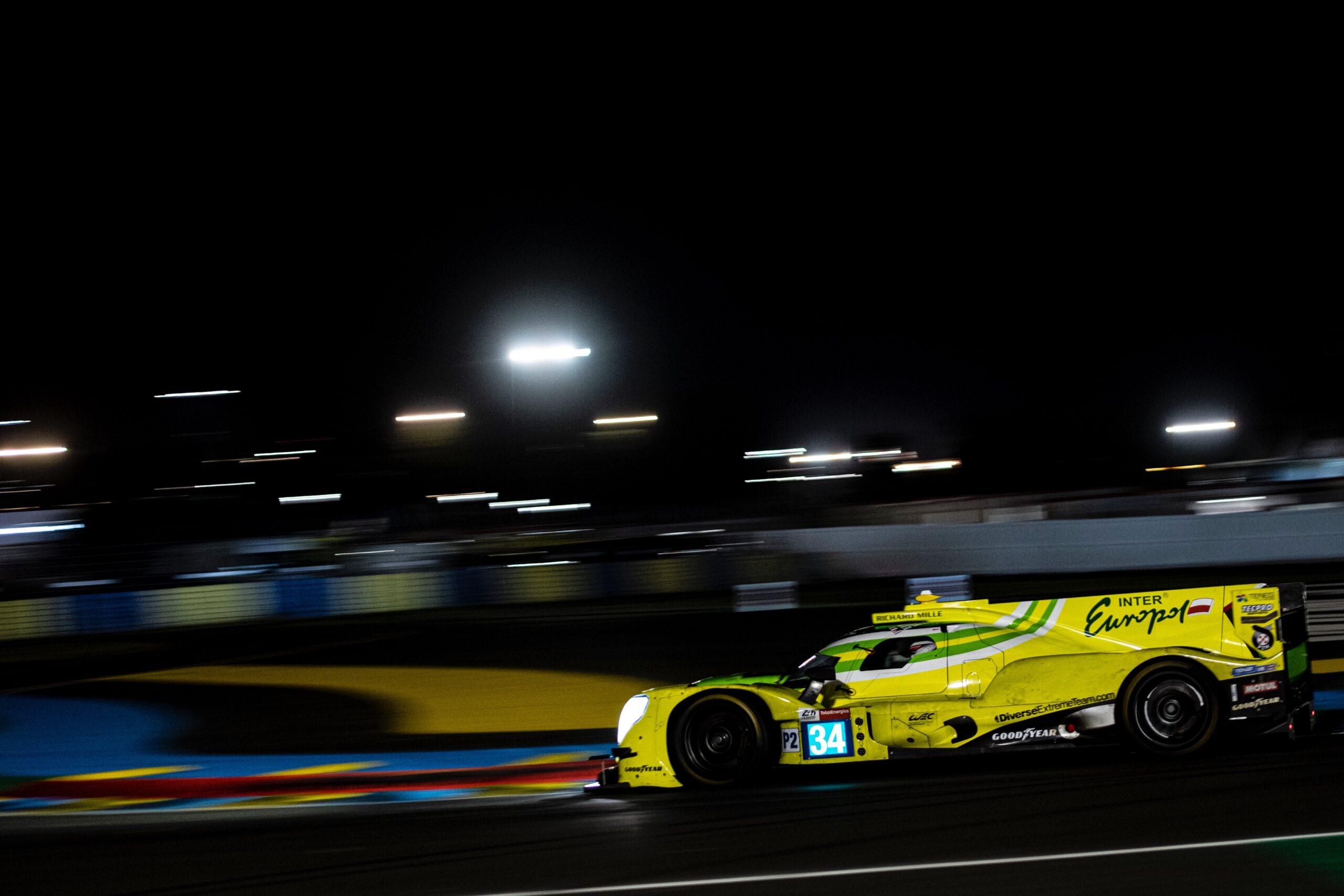 Inter Europol Competition podczas FP4 przed 24h Le Mans