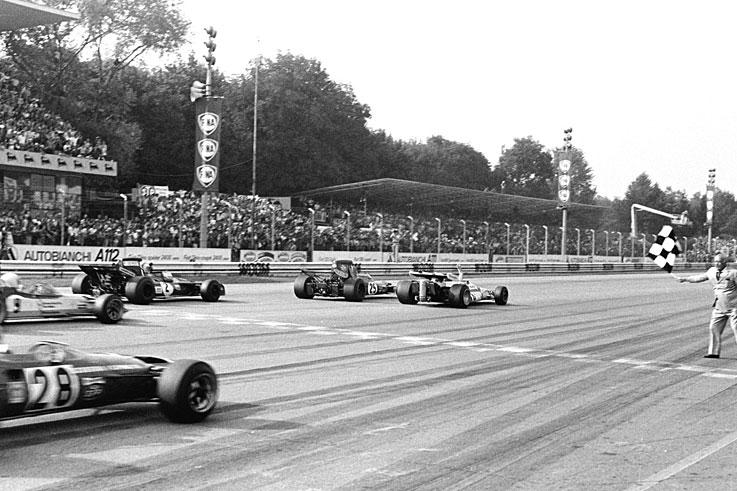 Pierwsza piątka w 0.61 sekundy – 50 lat od najbardziej szalonego finiszu w historii F1