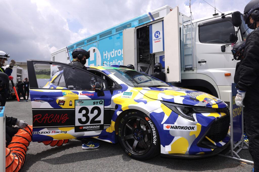 Akio Toyoda pojedzie w wyścigu endurance wodorową Toyotą Corollą