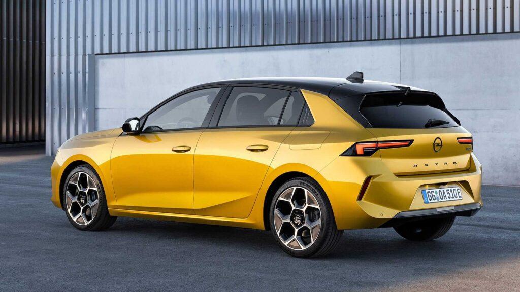 Opel zaprezentuje w 2023 roku w pełni elektryczny wariant nowej Astry