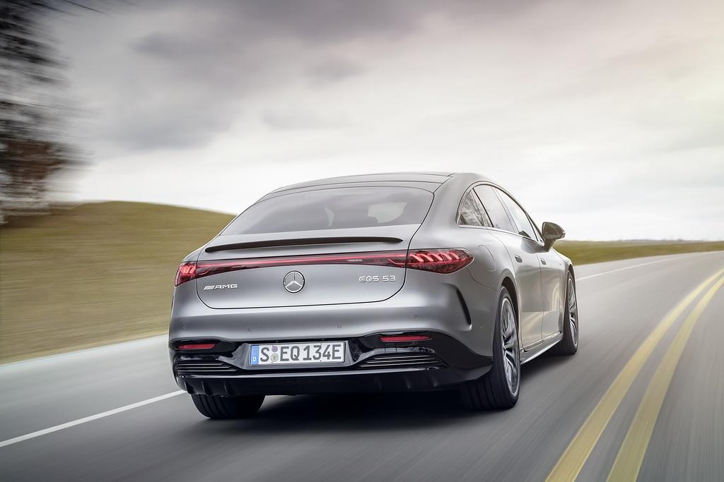 Mercedes-AMG EQS 53 jest początkiem – nadejdzie mocniejsza wersja