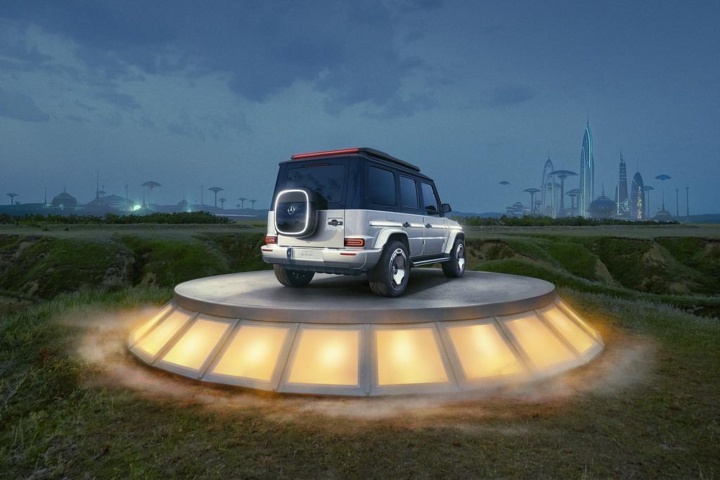 Koncept elektrycznej Klasy G oficjalnie zaprezentowany - Mercedes EQG