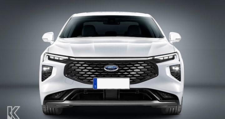 Tak może wyglądać kolejna generacja Forda Mondeo – niestety tylko Chiny