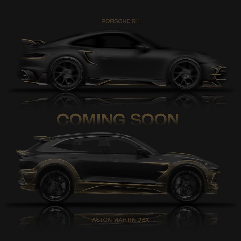 Mansory Aston Martin DBX Porsche 911