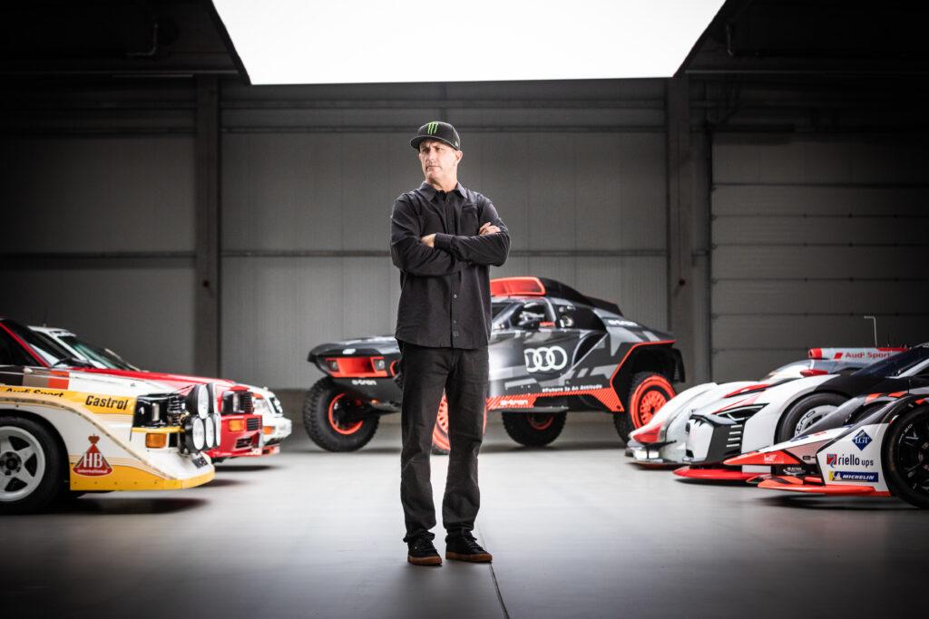 Ken Block podpisuje umowę z Audi, aby uatrakcyjnić elektryki marki