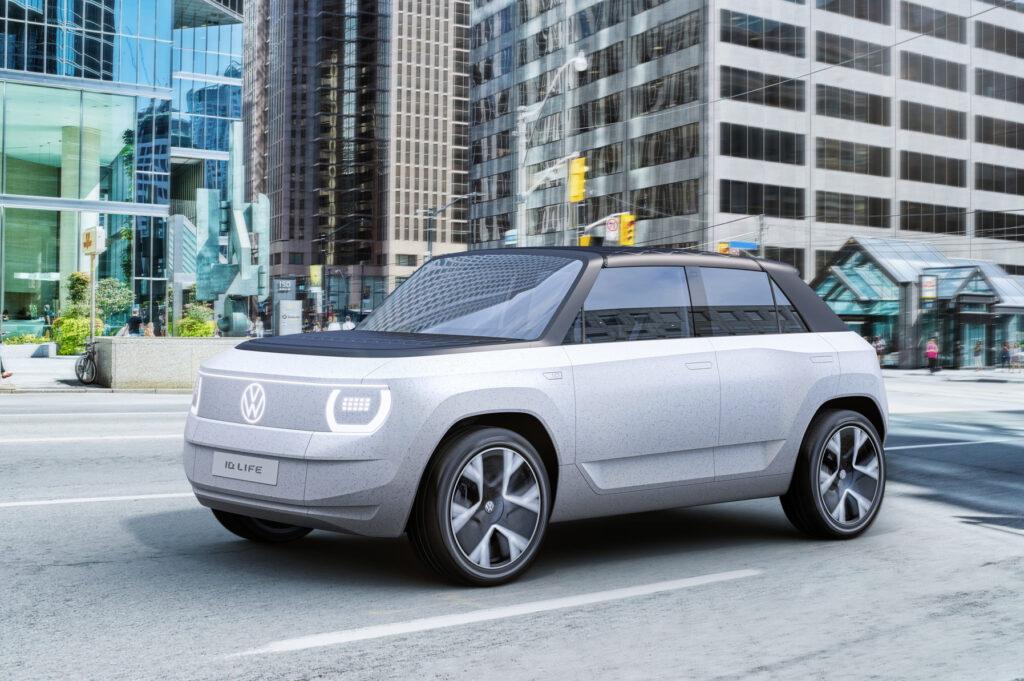 Volkswagen ID. LIFE Concept zapowiada tani elektryczny model miejski