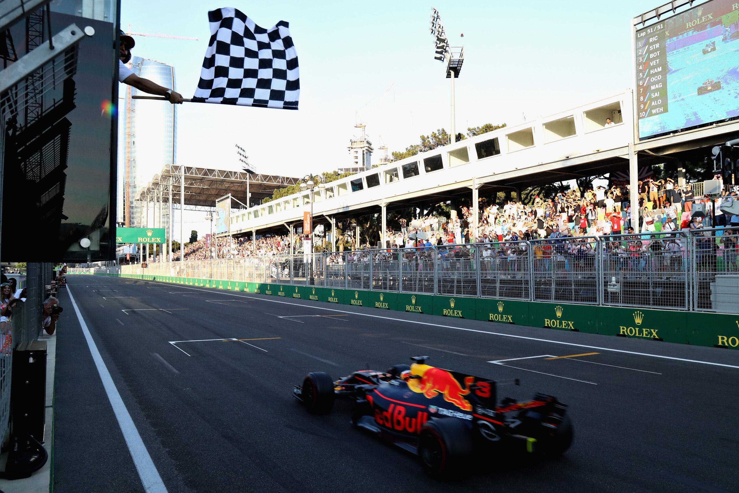 Daniel Ricciardo; GP Azerbejdżanu 2017