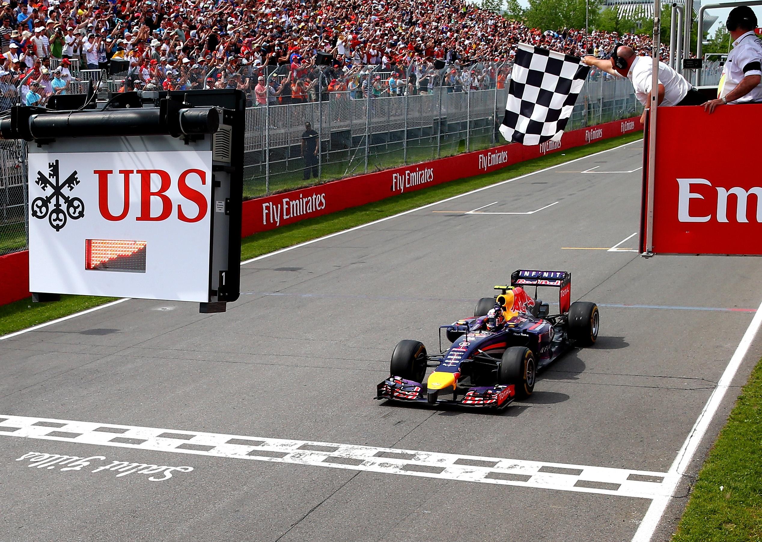 Daniel Ricciardo Kanada 2014